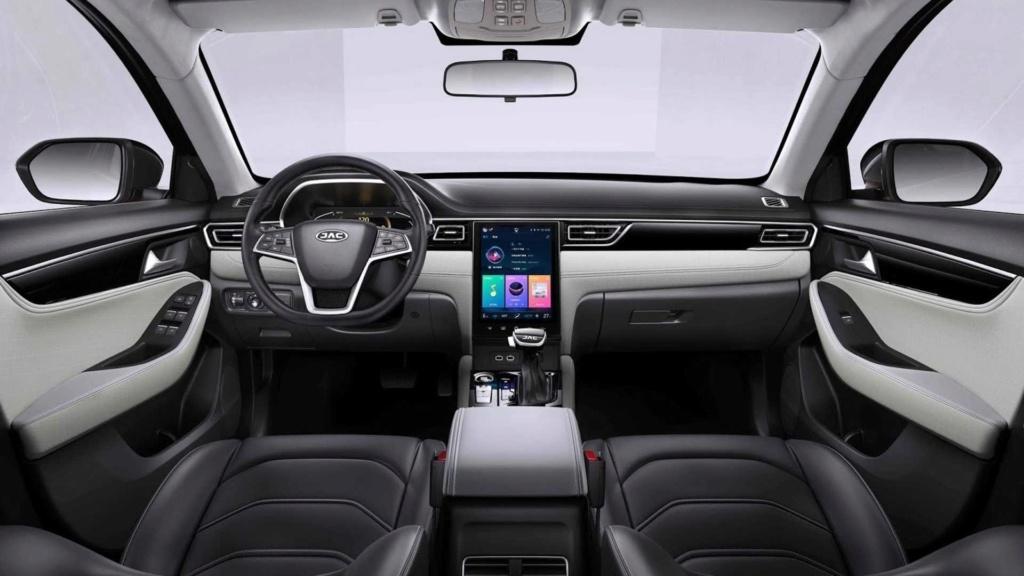 Novo JAC A5 une design Alfa Romeo e engenharia VW Novo-j12