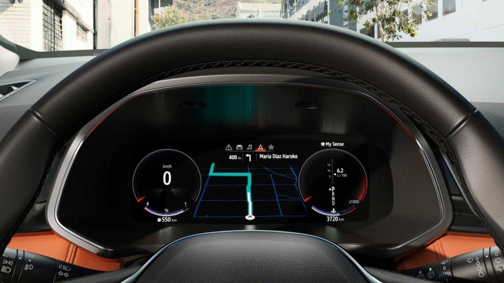 Renault Captur ganha nova geração para a Europa com versão híbrida Nuova-16