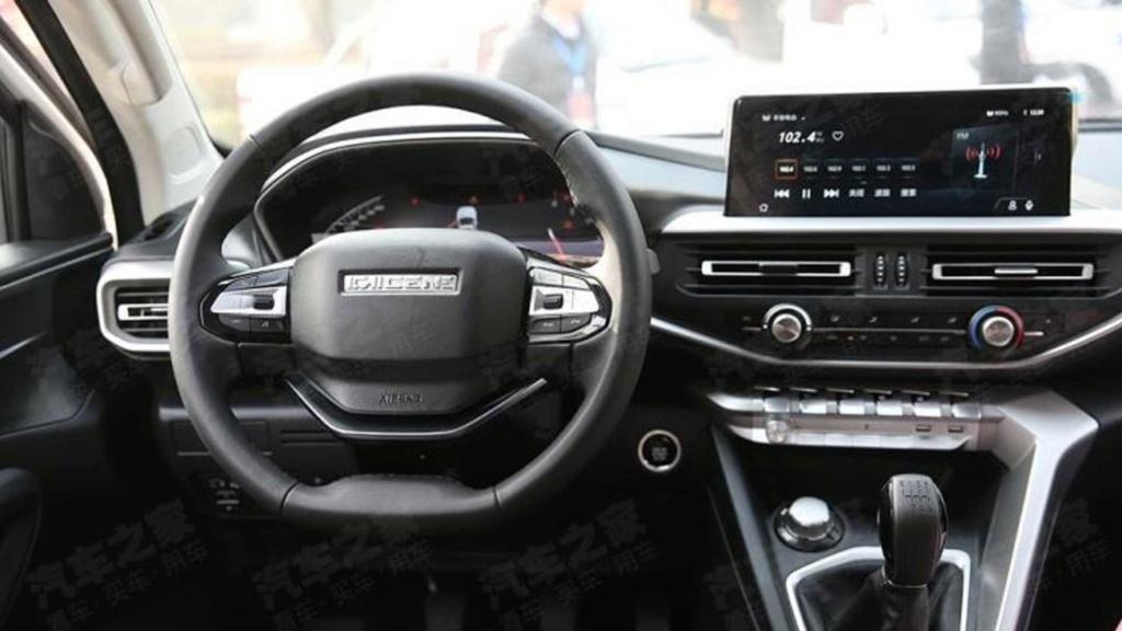Picape média da Peugeot tem interior adiantado por modelo chinês Peugeo45