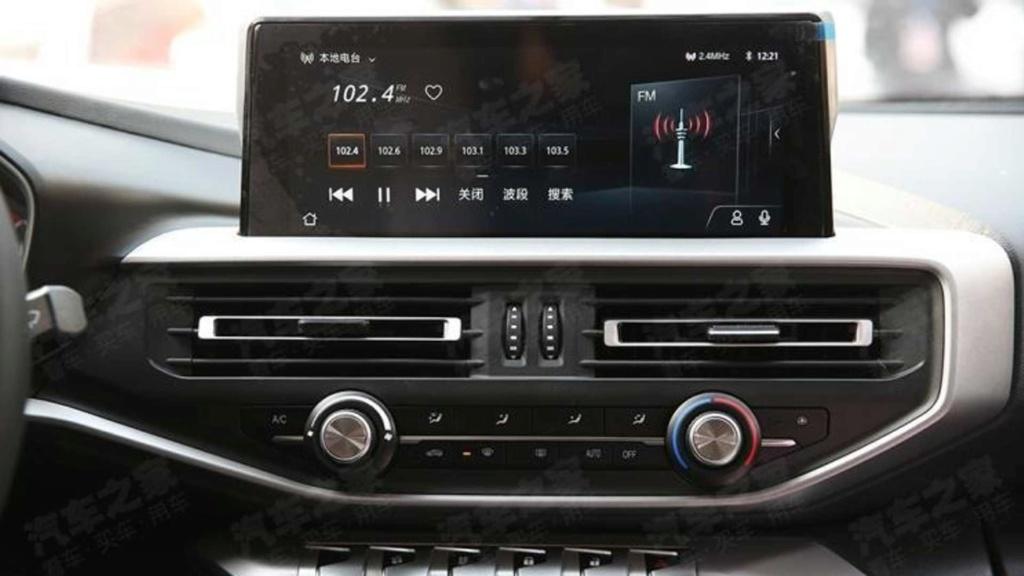 Picape média da Peugeot tem interior adiantado por modelo chinês Peugeo46