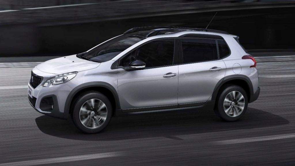 Peugeot 2008 renovado só terá câmbio automático na versão turbo em novembro Peugeo53
