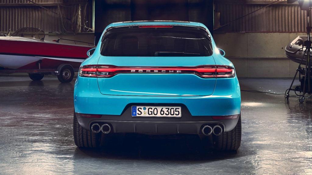Porsche Macan 2020 traz novo design por R$ 329 mil Porsch21