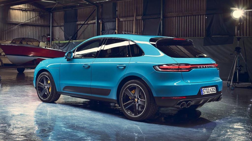 Porsche Macan 2020 traz novo design por R$ 329 mil Porsch23