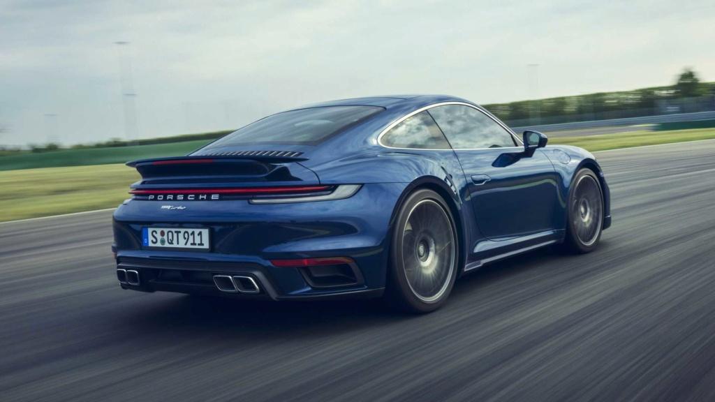 Novo Porsche 911 estreia agora na versão Turbo com motor de 580 cv Porsch44