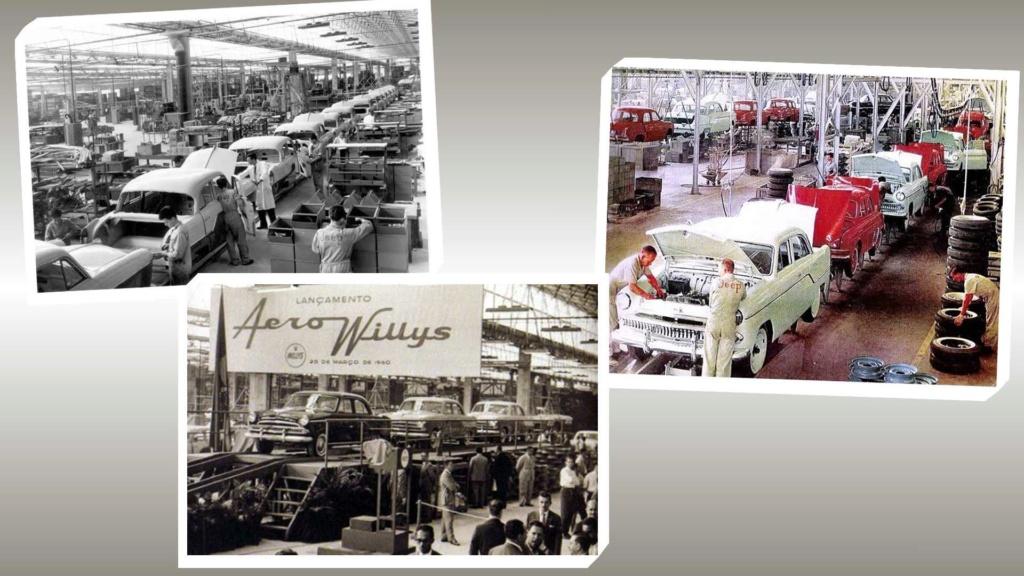 História: fábrica da Ford em SBC já produziu Jeep, Renault, VW e até Chrysler Produc10