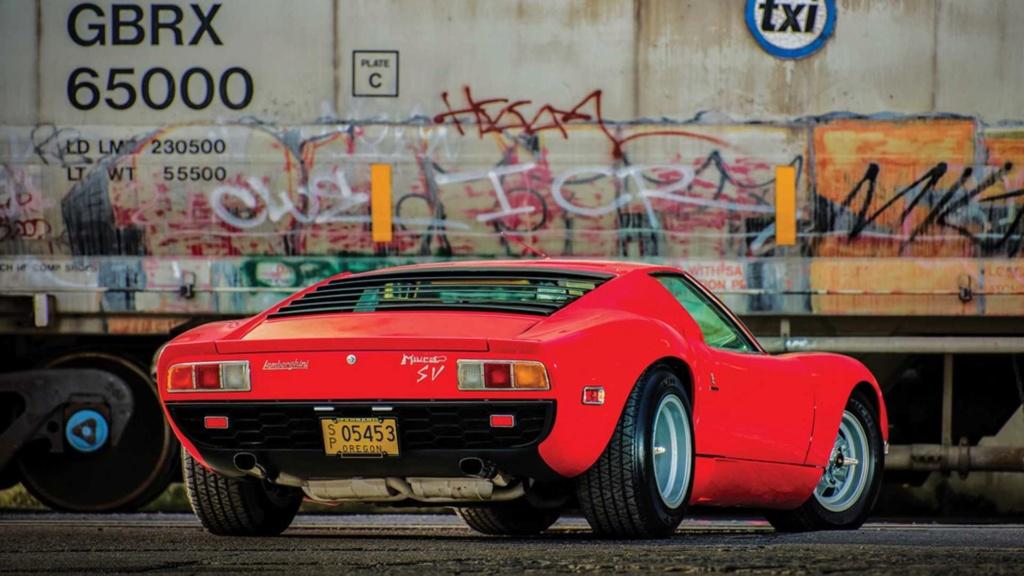 Raro Dry-Sump 1971 Lamborghini Miura SV indo para o leilão Rare-d11