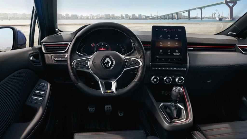Renault Clio híbrido pode custar o equivalente a R$ 104,6 mil Renau108