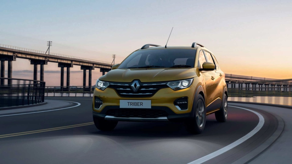 Renault revela Triber (minivan do Kwid) e promete vendê-la na América Latina Renaul46