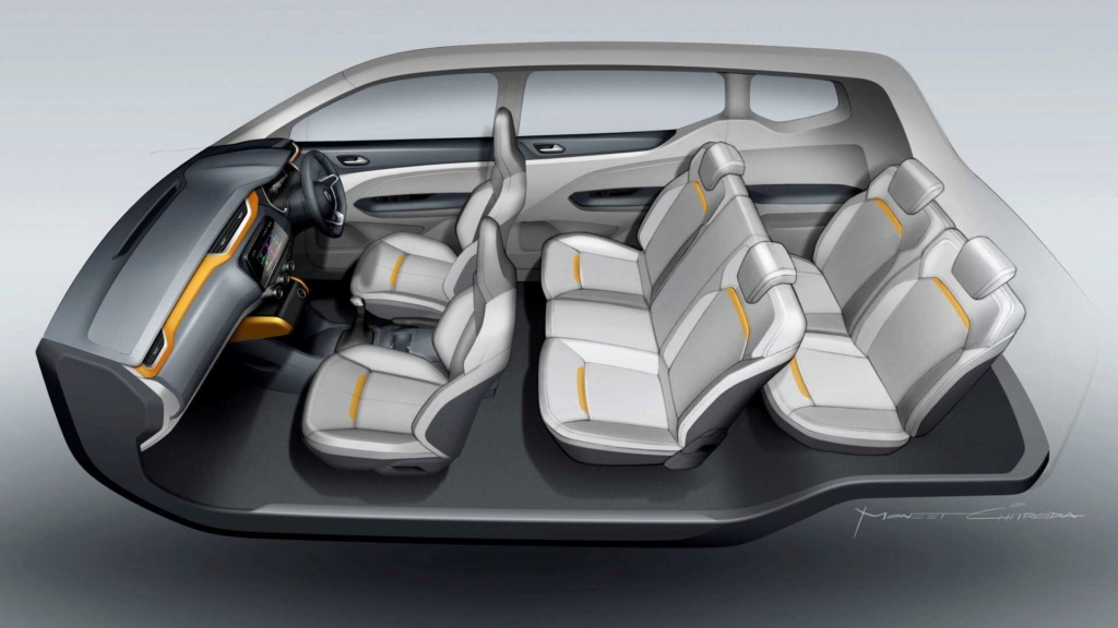 Renault revela Triber (minivan do Kwid) e promete vendê-la na América Latina Renaul50