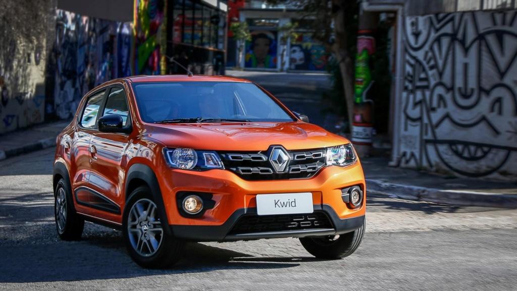 Renault Kwid dará origem a SUV com menos de 4 metros Renaul55