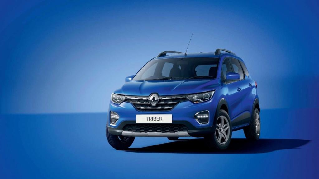 Minivan do Kwid, Renault Triber custa R$ 28.600 na Índia Renaul87