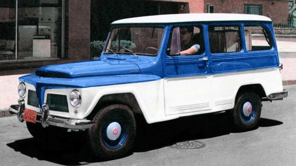 História: fábrica da Ford em SBC já produziu Jeep, Renault, VW e até Chrysler Rural-10