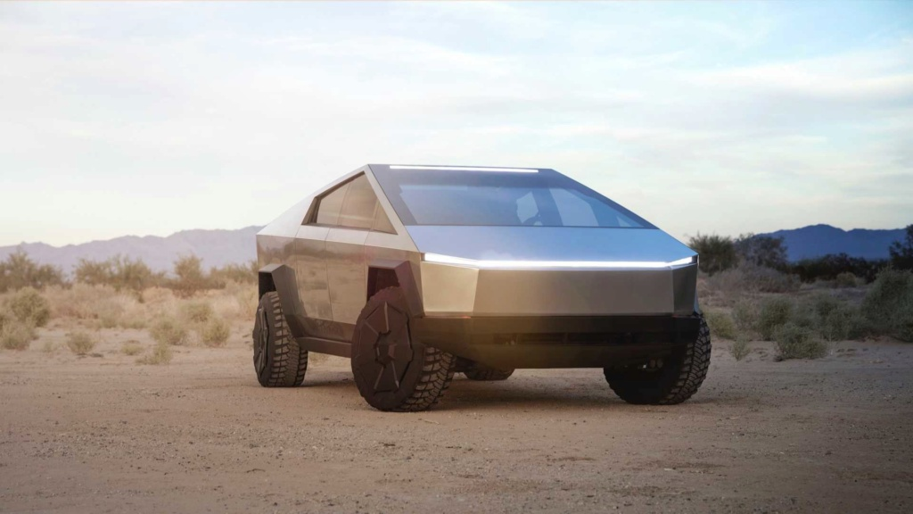 Tesla Cybertruck é a picape elétrica com autonomia de até 800 km Tesla-22