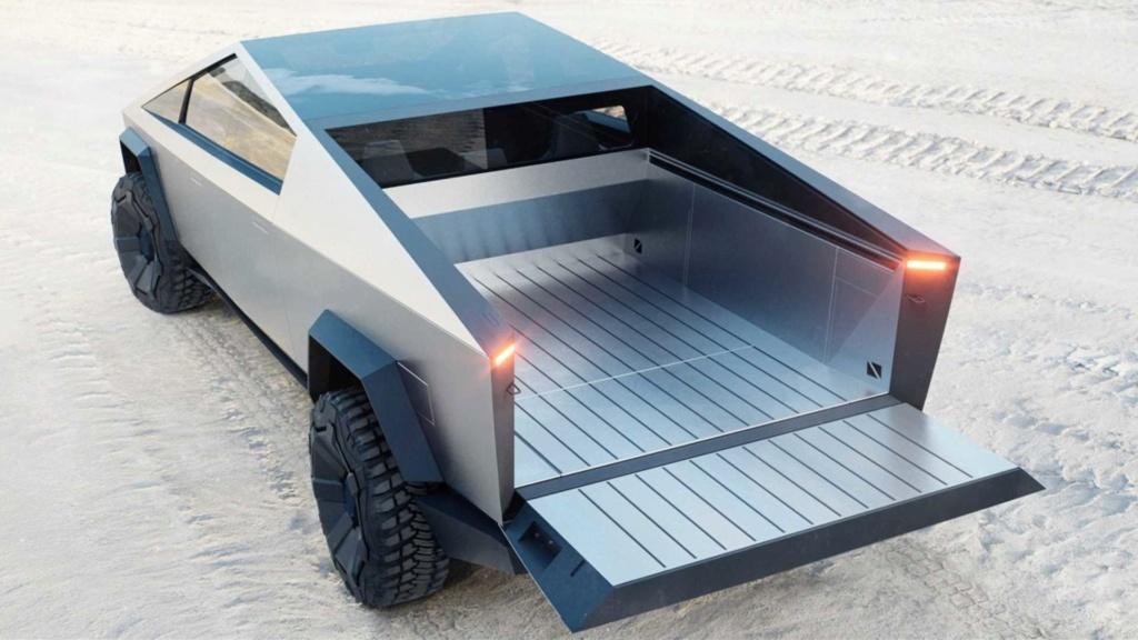 Tesla Cybertruck é a picape elétrica com autonomia de até 800 km Tesla-23