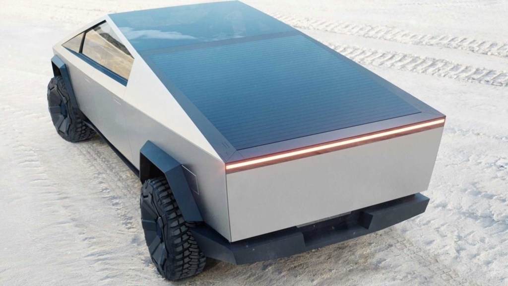 Tesla Cybertruck é a picape elétrica com autonomia de até 800 km Tesla-24
