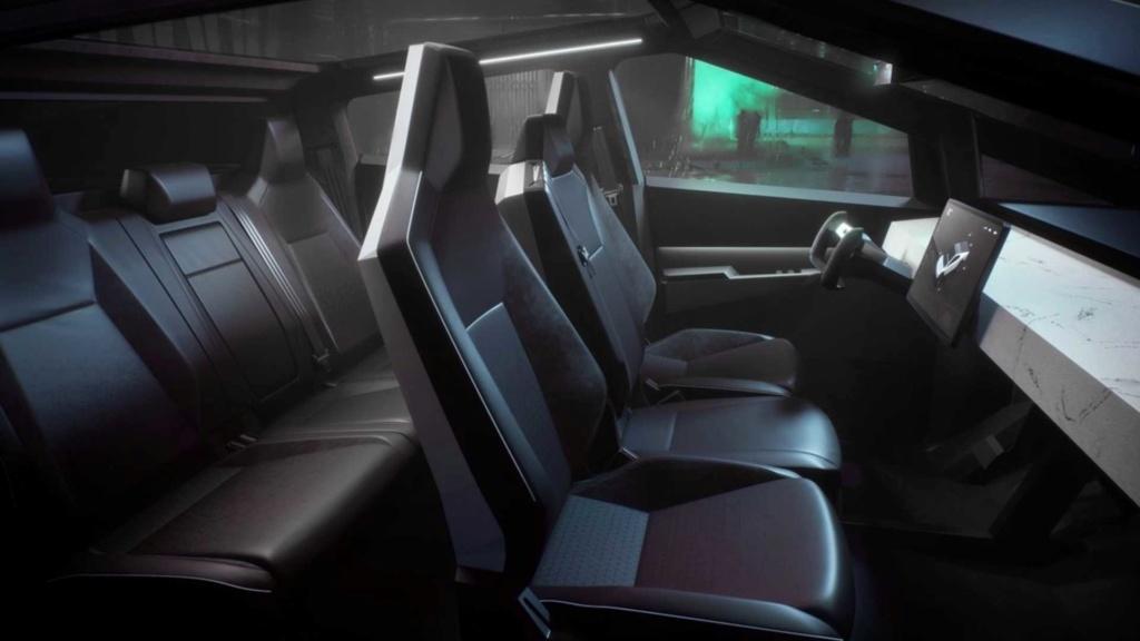 Tesla Cybertruck é a picape elétrica com autonomia de até 800 km Tesla-25