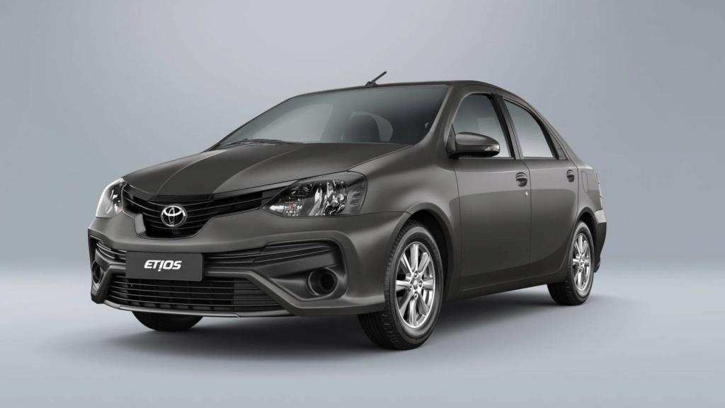 Toyota Etios 2020 aparece no site da marca; e mais caro Toyota14