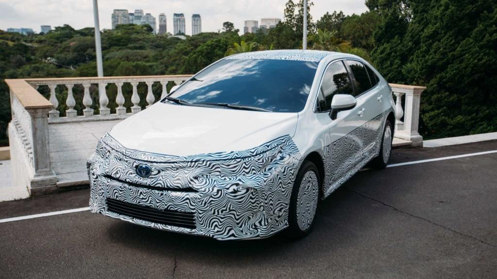 Novo Toyota Corolla híbrido flex é confirmado para final de 2019 Toyota20