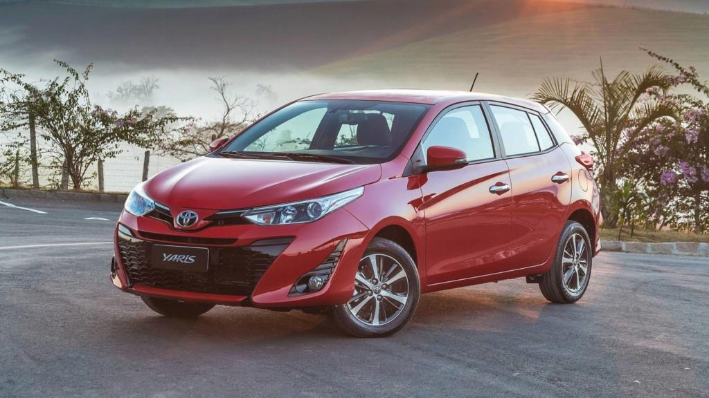 """Toyota Yaris fica mais caro e praticamente """"mata"""" versões manuais Toyota23"""