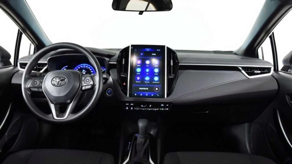 Novo Toyota Corolla estreia multimídia gigante na China Toyota37