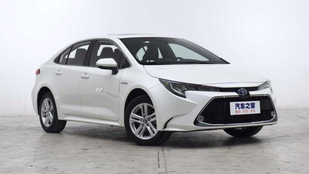 Novo Toyota Corolla estreia multimídia gigante na China Toyota38