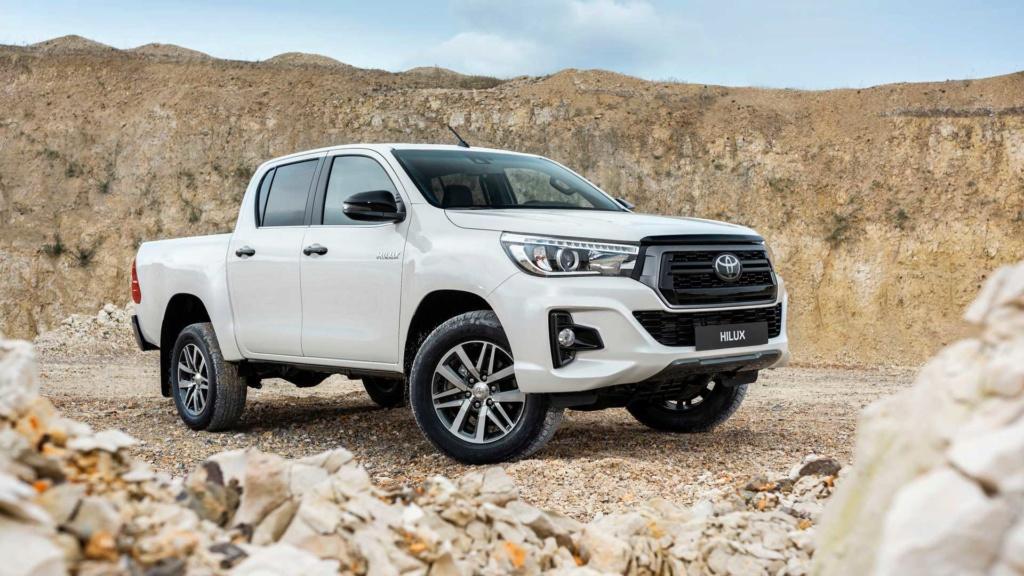 Toyota Hilux 2020 terá sete airbags de série nas versões de cabine dupla Toyota42