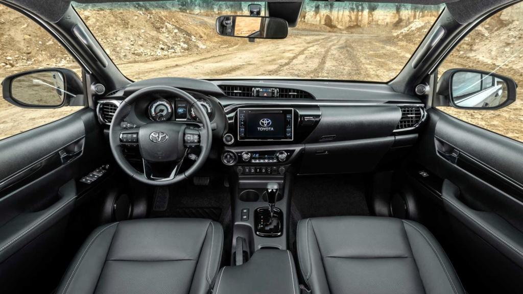 Toyota Hilux 2020 terá sete airbags de série nas versões de cabine dupla Toyota44