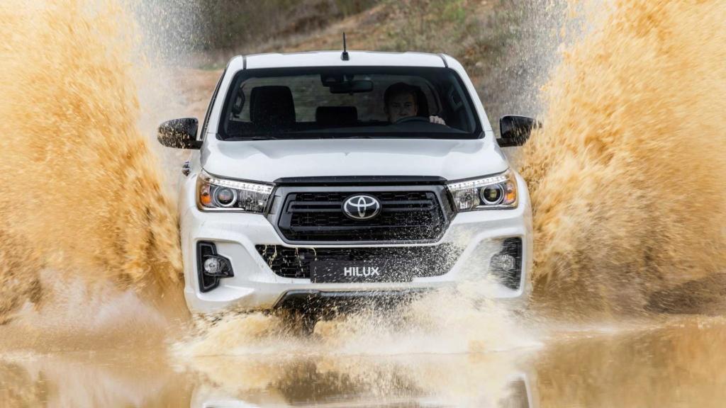 Toyota Hilux 2020 terá sete airbags de série nas versões de cabine dupla Toyota45