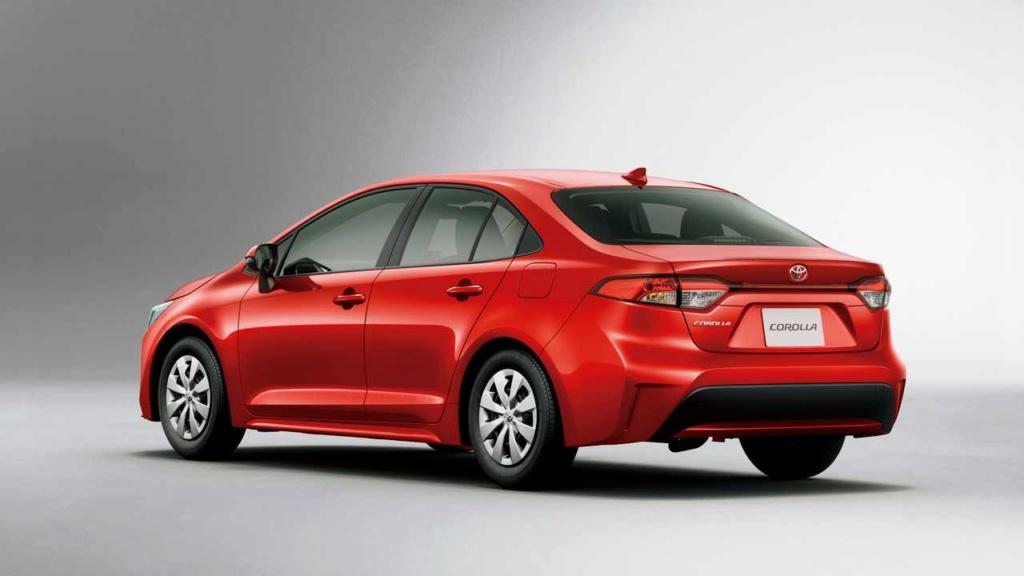 Novo Toyota Corolla ganha motor 1.2 turbo de 116 cv no Japão Toyota57