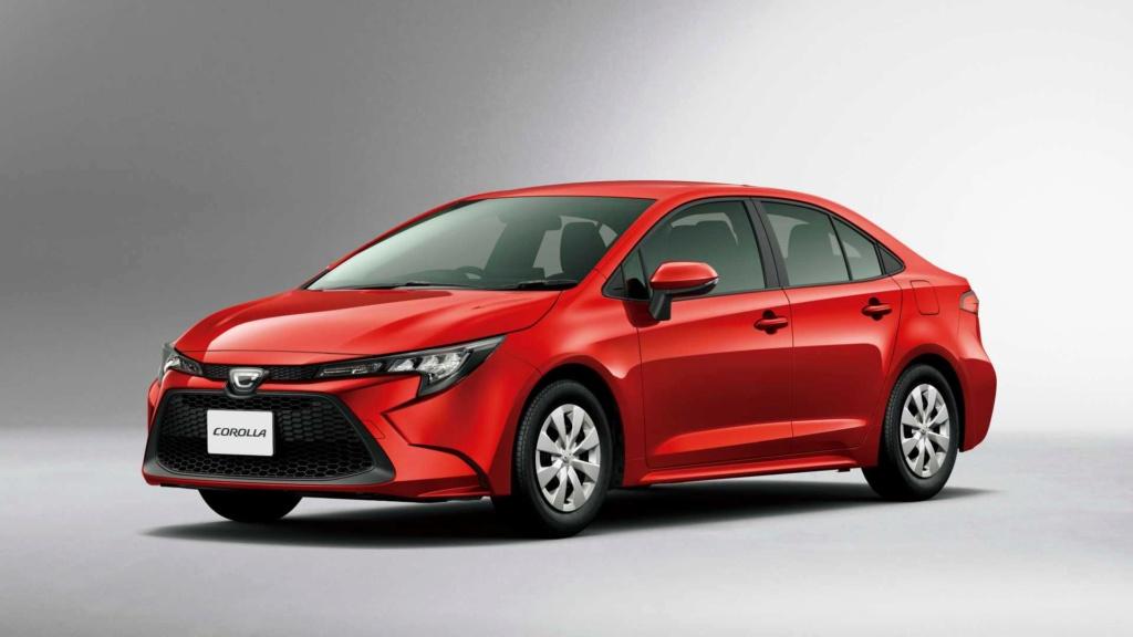 Novo Toyota Corolla ganha motor 1.2 turbo de 116 cv no Japão Toyota58