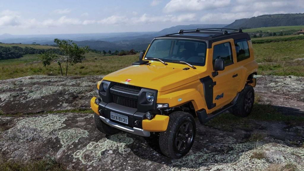 Troller T4 2020 chega com nova combinação de cores por R$ 140.900 Trolle11