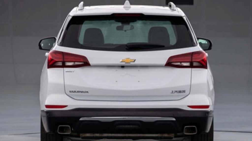 Chevrolet Equinox 2021 reestilizado aparece sem disfarces antes da hora Vazou-11