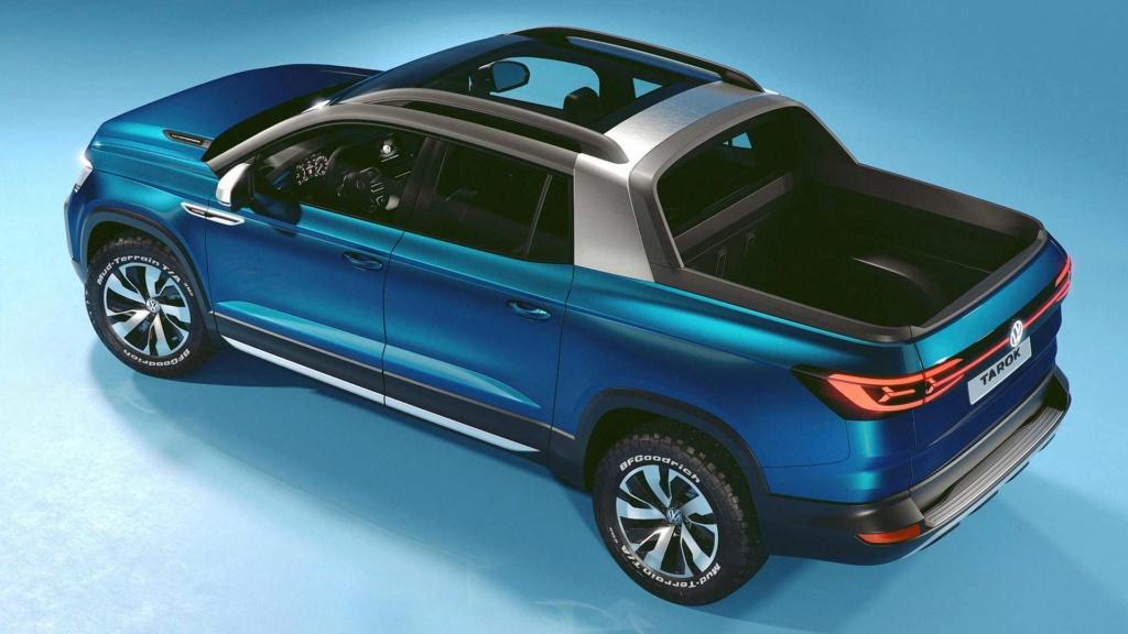 Volkswagen Tarok, picape brasileira, é atração no Salão de Frankfurt Volks101