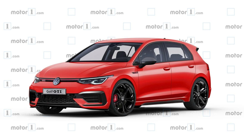 Projeção: Volkswagen Golf GTI 2020 pode ter até 297 cv Volks116