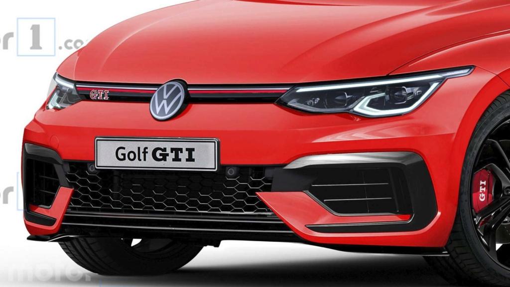 Projeção: Volkswagen Golf GTI 2020 pode ter até 297 cv Volks117