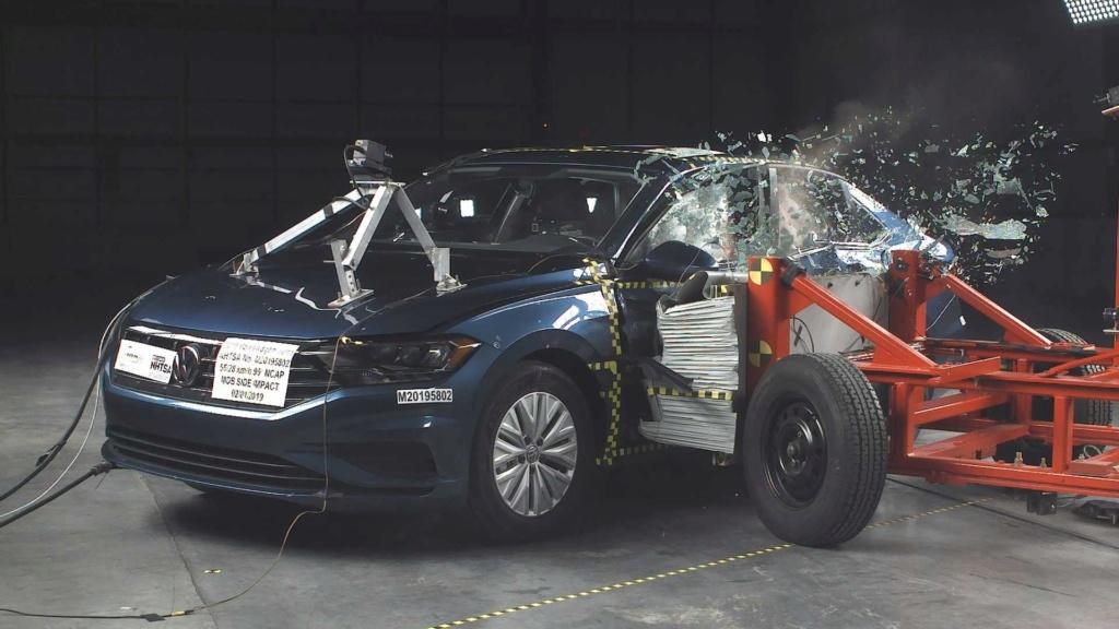 Volkswagen Jetta 2019 tem nota máxima em teste de colisão Volksw24