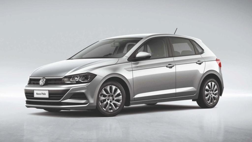 VW Polo e Virtus 1.6 são vendidos com desconto em maio Volksw65