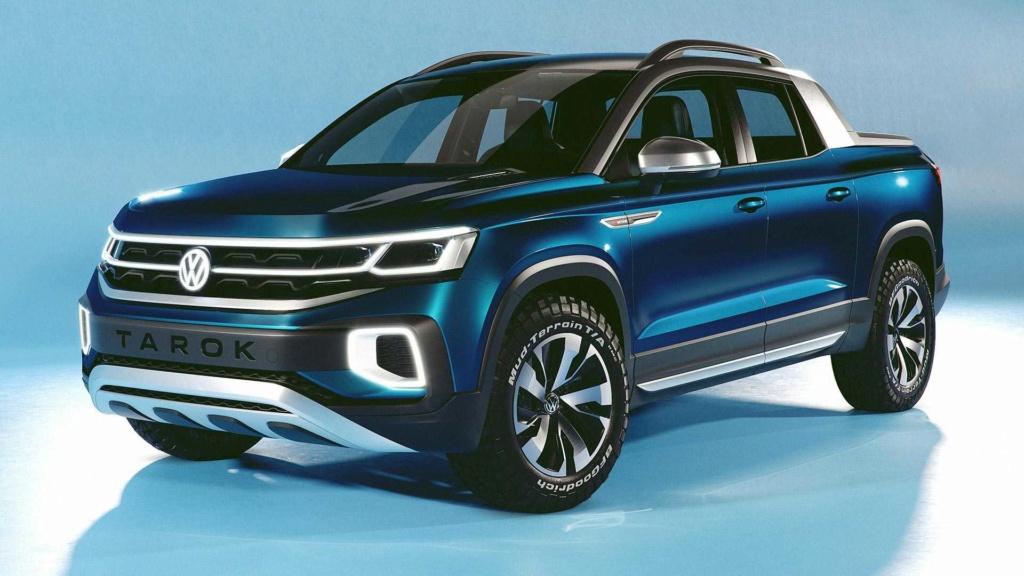 Novas Ford Ranger e Volkswagen Amarok não terão versão híbrida Volksw96