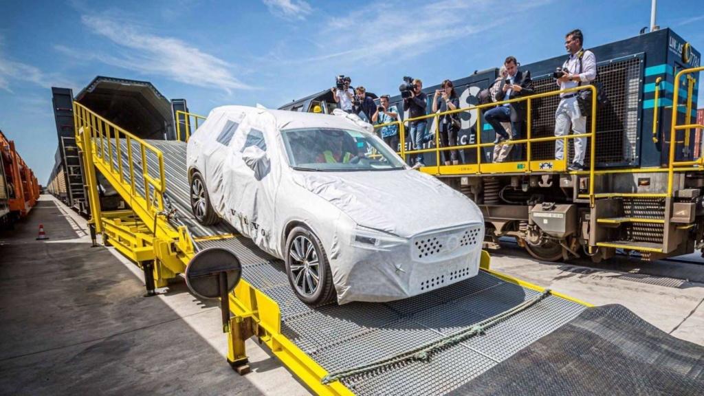 Volvo XC60 agora chega à Europa a partir da China - e de trem! Volvo-34