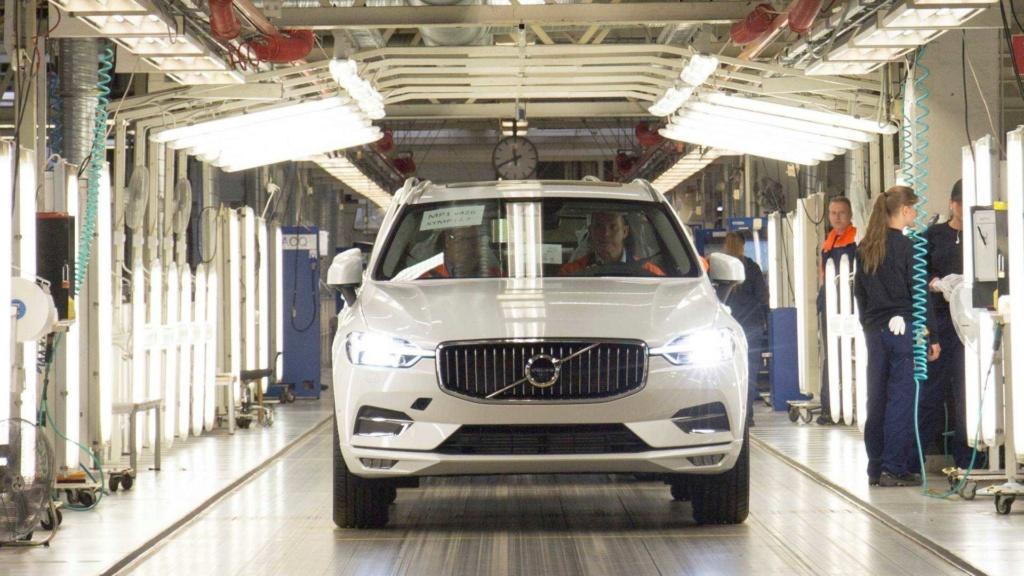 Volvo XC60 agora chega à Europa a partir da China - e de trem! Volvo-35
