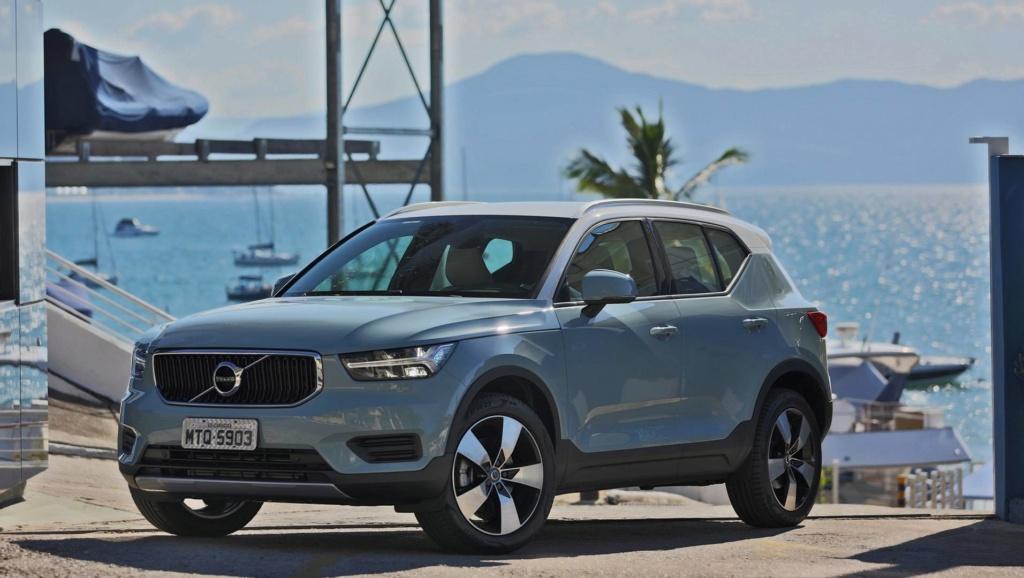 Volvo cresce 27,9% e bate novo recorde de vendas no Brasil Volvo-40