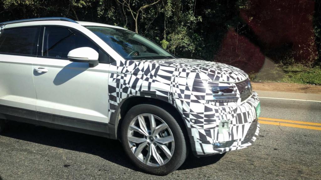 "VW Tarek: anti-Compass terá visual diferente na versão ""Mercosul"" Vw-tar10"