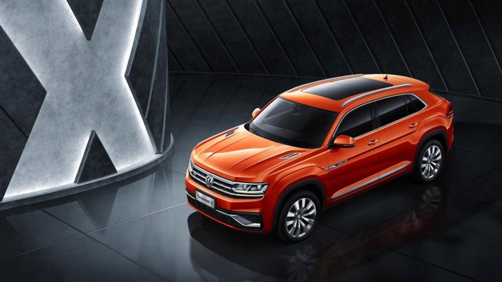 VW Teramont X, primeiro SUV-cupê da marca, faz estreia na China Vw-ter10