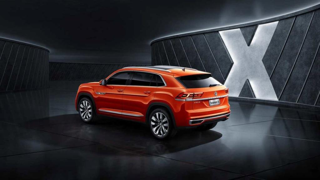 VW Teramont X, primeiro SUV-cupê da marca, faz estreia na China Vw-ter11