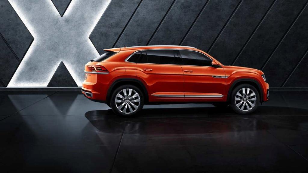 VW Teramont X, primeiro SUV-cupê da marca, faz estreia na China Vw-ter12