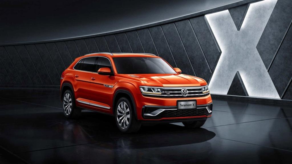 VW Teramont X, primeiro SUV-cupê da marca, faz estreia na China Vw-ter13