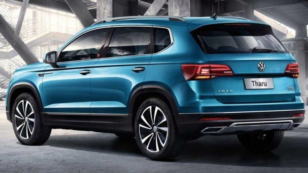 "VW Tarek: anti-Compass terá visual diferente na versão ""Mercosul"" Vw-tha11"