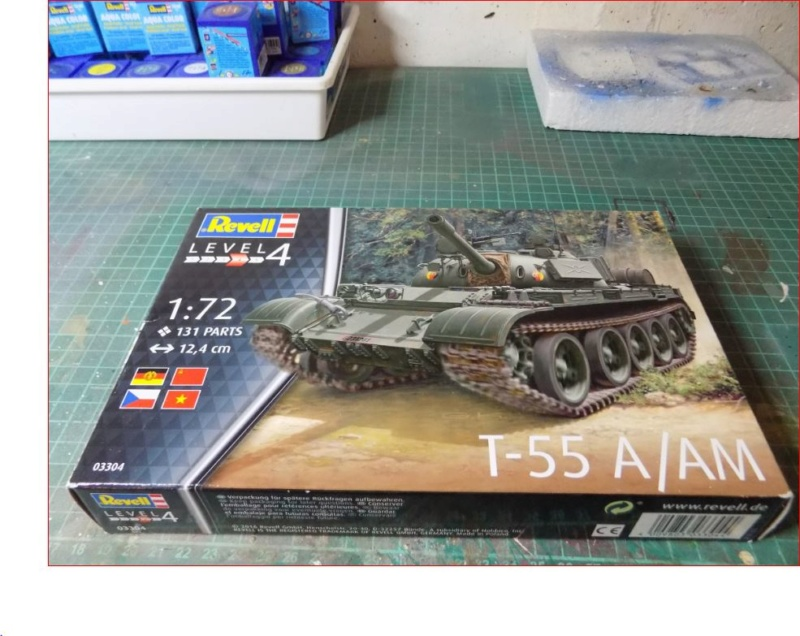 T-55 A/AM 1:72 von Revell 117