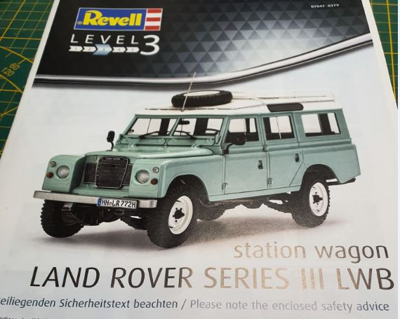 Land Rover / Revell, 1:24 R-land10