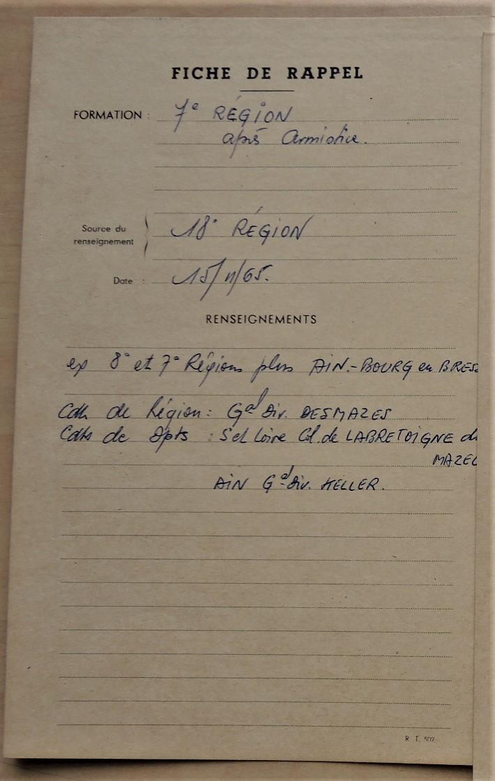 Commandant de la 7e Région militaire 19651110